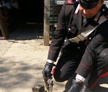 roma carabinieri arma ferito