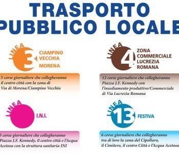 trasporto pubblico ciampino