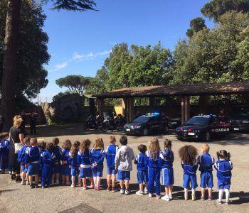 carabinieri bimbi castel gandolfo scuola legalità