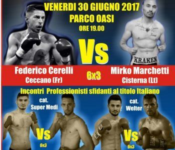 boxe incontri maschili femminili latina stelle