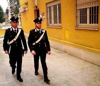 carabinieri coppie fratelli rapina coltello
