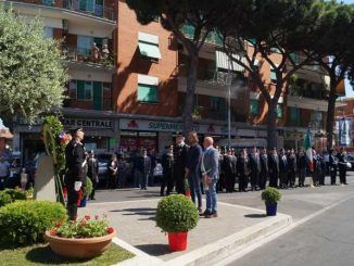 cerimonia brigadiere dei carabinieri