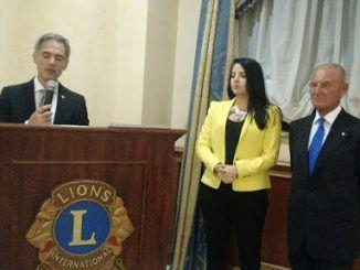 Velletri presidente Lions club cerimonia discorso