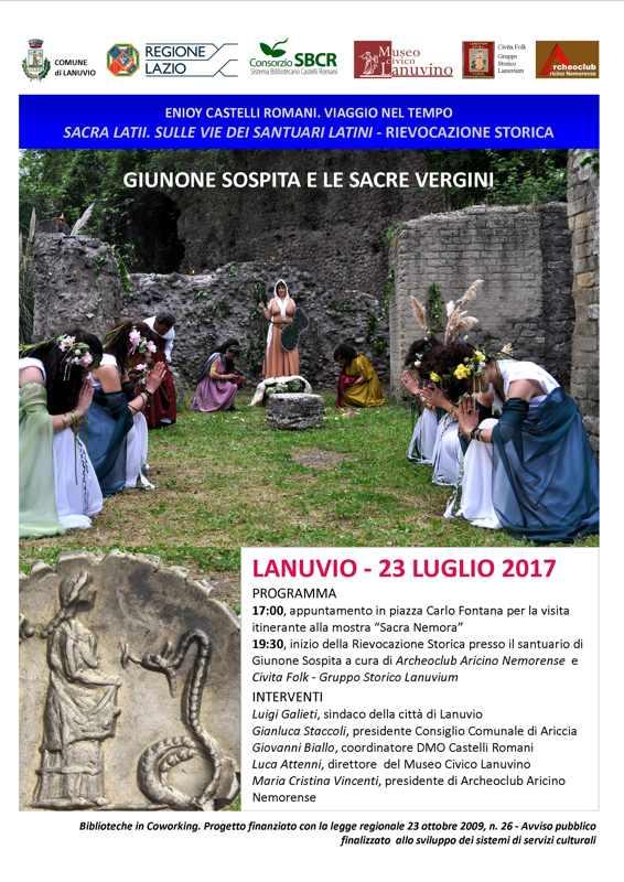vie dei santuari dei Latini