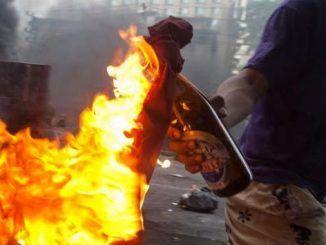 molotov carabinieri colonna