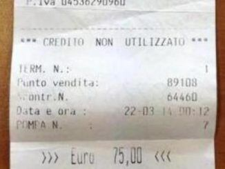 scontrino rubato arresto carabinieri