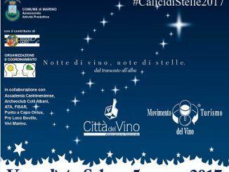 comune marino calici vino stelle