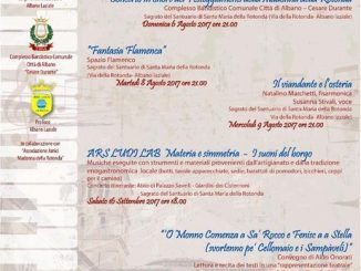 fisarmonica voce festival rotonda albano comune