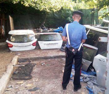 carabinieri rocca priora auto rubate