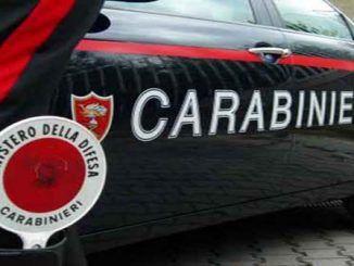 carabinieri grottaferrata ladro borsa