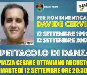 Velletri spettacolo Davide Cervia 1990