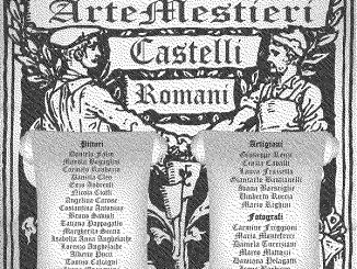 arte mestieri castelli romani