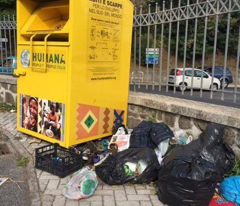 rifiuti selvaggi