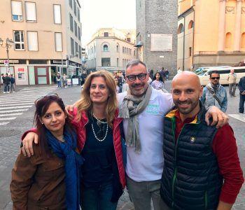 Coordinatori di Con Voi per Velletri col candidato sindaco