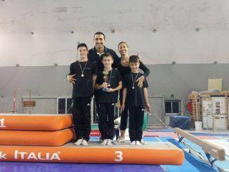 La Ginnastica Res Novae Velletri conquista il podio, nella I Prova di Serie C1