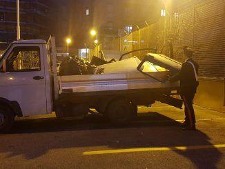 FRASCATI I rifiuti speciali sequestrati dai Carabinieri