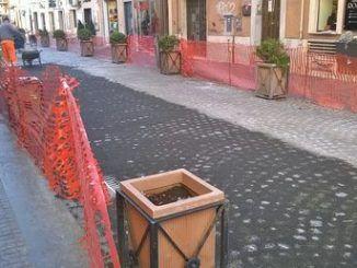 Cavour Albano selciato