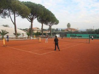 ragazzi della Scuola tennis
