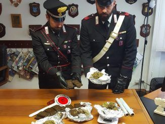 droga carabinieri ariccia arresto spacciatore