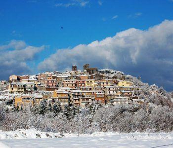 rocca priora neve