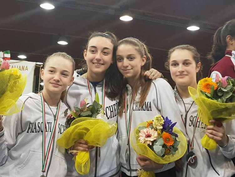 quattro secondi posti ai campionati italiani