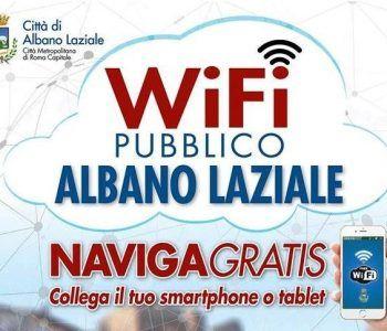 wi fi albano laziale gratis