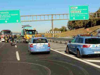 Sabato, 21 aprile a partire dalle ore 22.00 sarà chiuso il tratto da Monteporzio Cantone fino al Grande Raccordo Anulare
