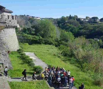 Visite guidate nei luoghi storici, attività all'area aperta. Grande festa e molta affluenza all'Open Day