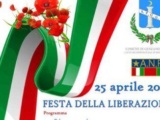 25 aprile a Genzano, le celebrazioni per il 73esimo anniversario della Liberazione