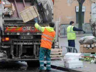 Interrotto a Frascati servizio di raccolta rifiuti