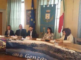 Presentata alla stampa la nuova giunta del sindaco di Genzano, Lorenzon