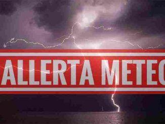 Allerta Meteo: codice giallo per temporali