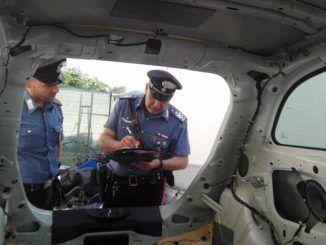 Scoperta centrale di riciclaggio auto dai Carabinieri. 5 persone arrestate