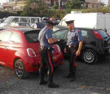 Riciclavano auto destinate al mercato nero. 5 gli arresti dei Carabinieri