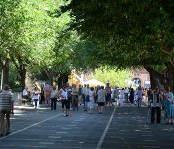 Frascati, atelier en plein air per la Passeggiata Fuori Porta. Coinvolti 70 pittori