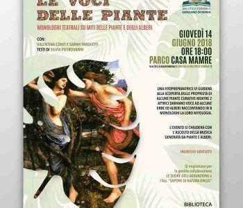 """Evento """"Le voci delle piante"""" in arrivo a Genzano di Roma"""