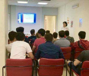 Gli studenti di Villa Sora collaborano con la Croce Rossa Italiana a seguito dei problemi causati dal maltempo