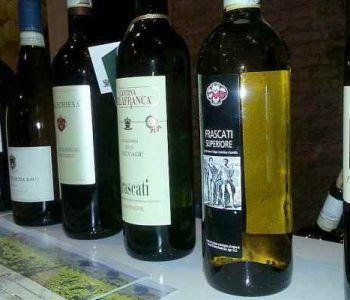 Grande successo per il vino Frascati all'enoteca Vyta di Roma
