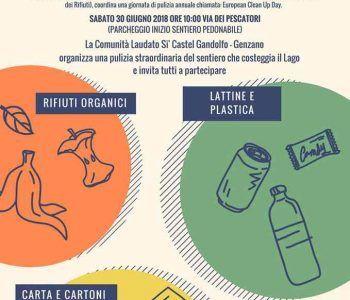 Progetto clean up, sabato 30 giugno bonifiche straordinarie al Parco dei Castelli Romani