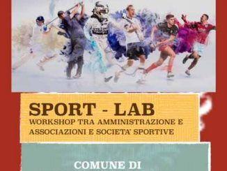 Stasera, 7 giugno appuntamento con Sport-Lab nel Comune di Grottaferrata, primo workshop con associazioni e società sportive