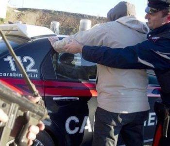 Albanese accusato di spaccio di cocaina arrestato dai Carabinieri. L'uomo è stato portato al carcere di Velletri