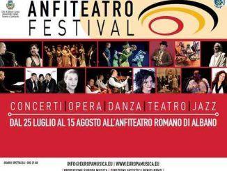 Albano Laziale, nell'attesa dell'Anfiteatro Festival, a partire da domenica 15 luglio torna Anfiteatro Estate