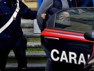 Trafficante 33 enne arrestato dai Carabinieri. Trovato in possesso di pistola, munizioni e 110 kg di droga