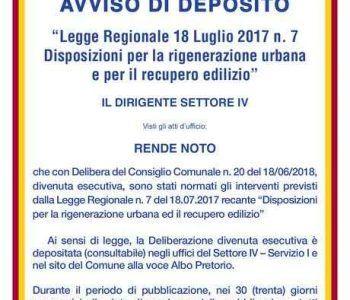 Albano Laziale: Urbanistica, disposizioni per la rigenerazione urbana