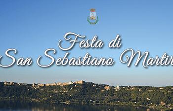 Festa San Sebastiano Martire dal 1 al 9 settembre a Castel Gandolfo