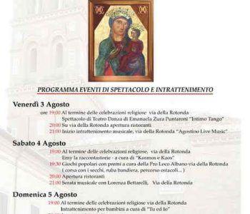 Tornano ad Albano Laziale i festeggiamenti per la Madonna della Rotonda