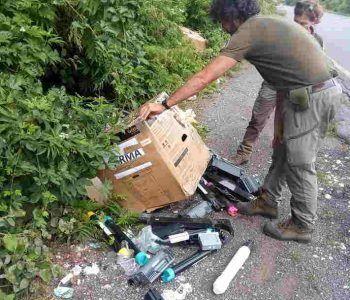 Ancora rifiuti al Parco dei Castelli Romani, situazione inaccettabile