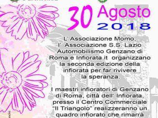 Genzano di Roma, seconda edizione Infiorata Amatrice