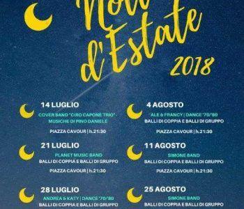 """Continuano fino alla fine di Agosto, i balli in piazza Cavour con le """"Notti D'Estate"""" di Grottaferrata"""