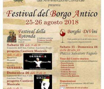 Torna ad Albano Laziale il Festival del Borgo Antico
